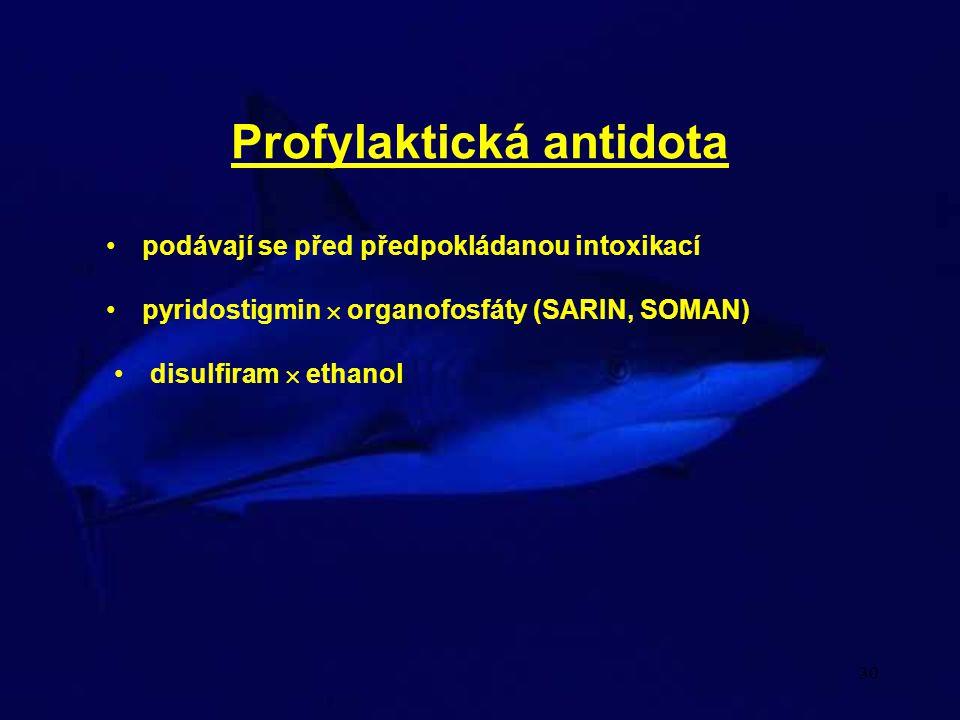 Profylaktická antidota