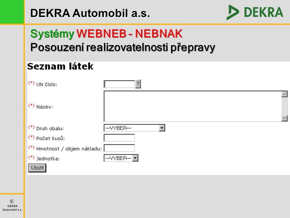 Systémy WEBNEB – NEBNAK