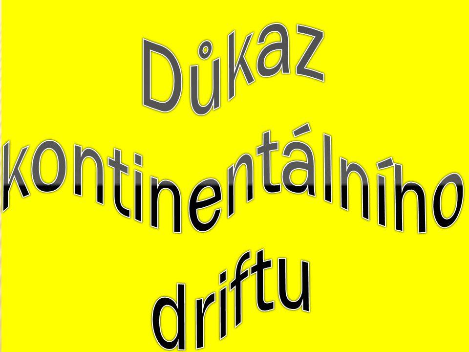 Důkaz kontinentálního driftu