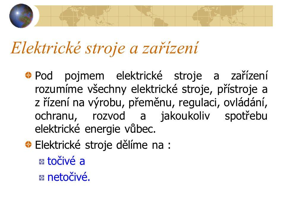 Elektrické stroje a zařízení