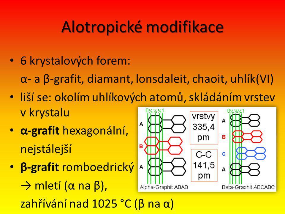 Alotropické modifikace