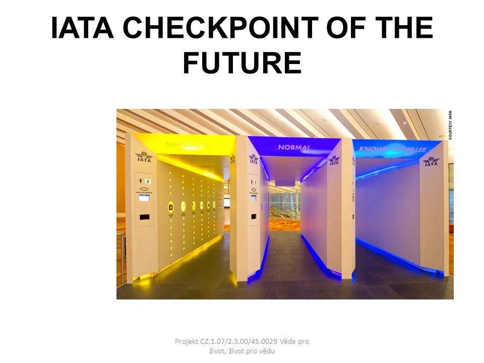 IATA CHECKPOINT OF THE FUTURE