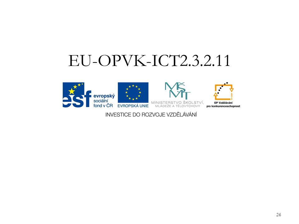 EU-OPVK-ICT2.3.2.11