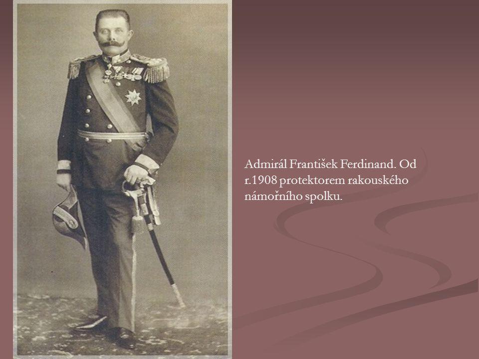 Admirál František Ferdinand. Od r
