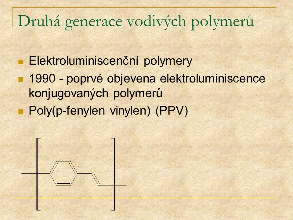 Druhá generace vodivých polymerů