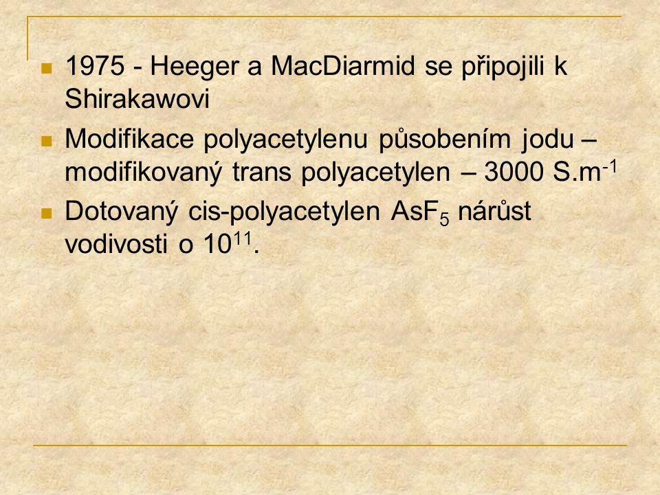 1975 - Heeger a MacDiarmid se připojili k Shirakawovi