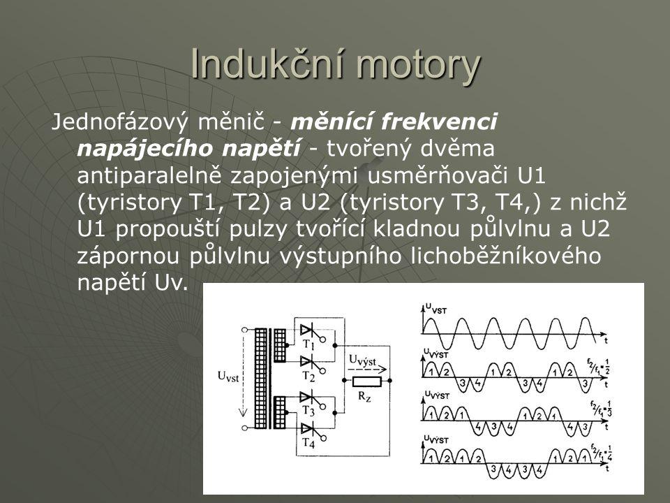Indukční motory