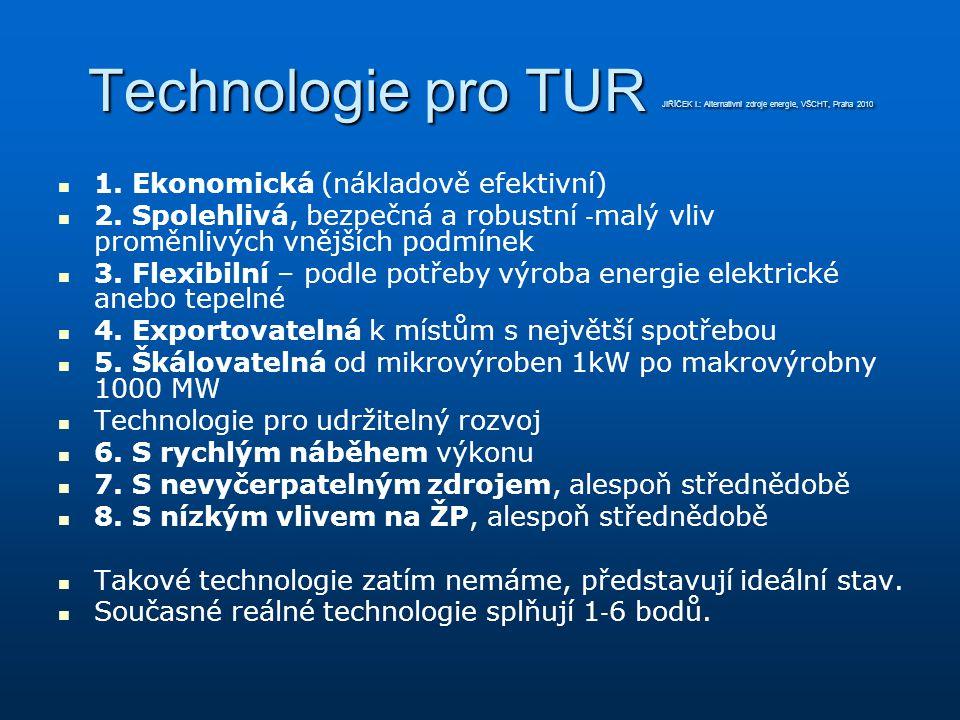 Technologie pro TUR JIŘÍČEK I