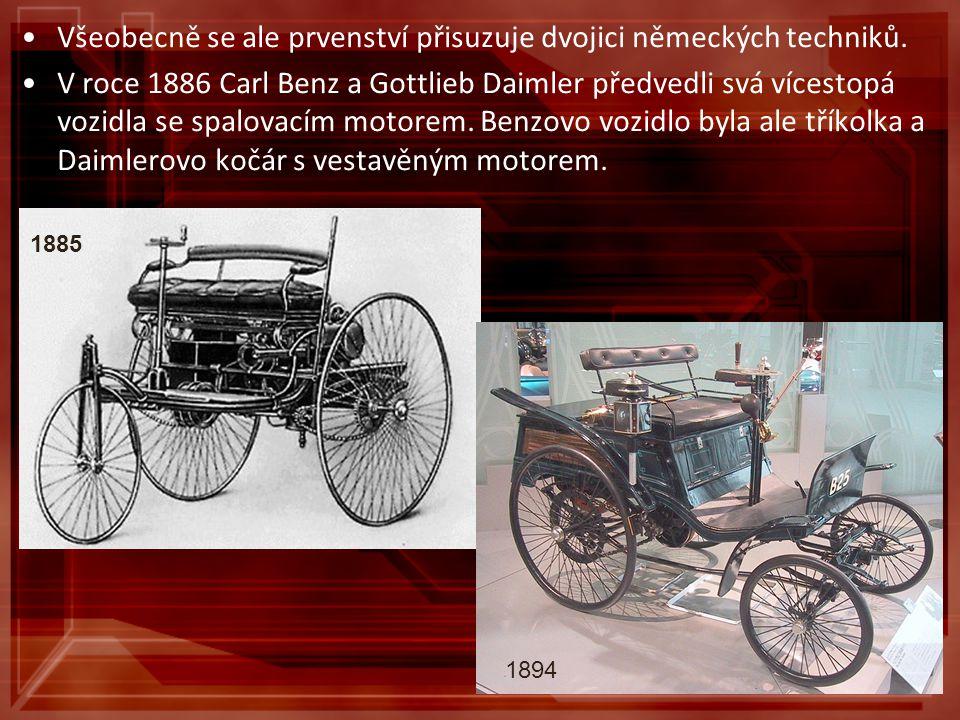 Všeobecně se ale prvenství přisuzuje dvojici německých techniků.
