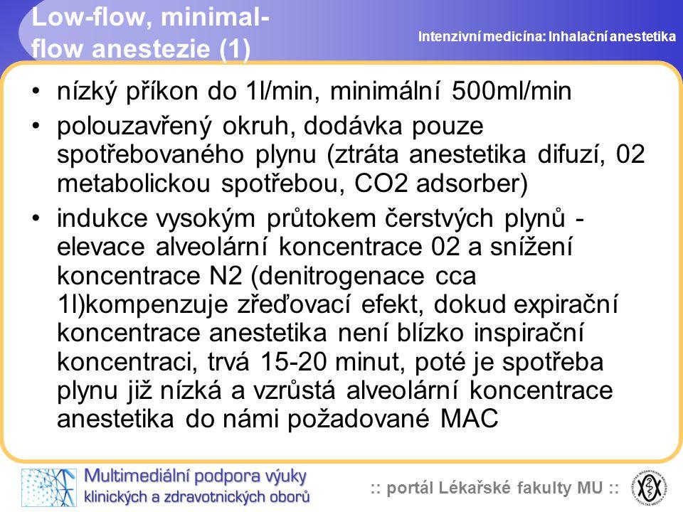 Low-flow, minimal-flow anestezie (1)