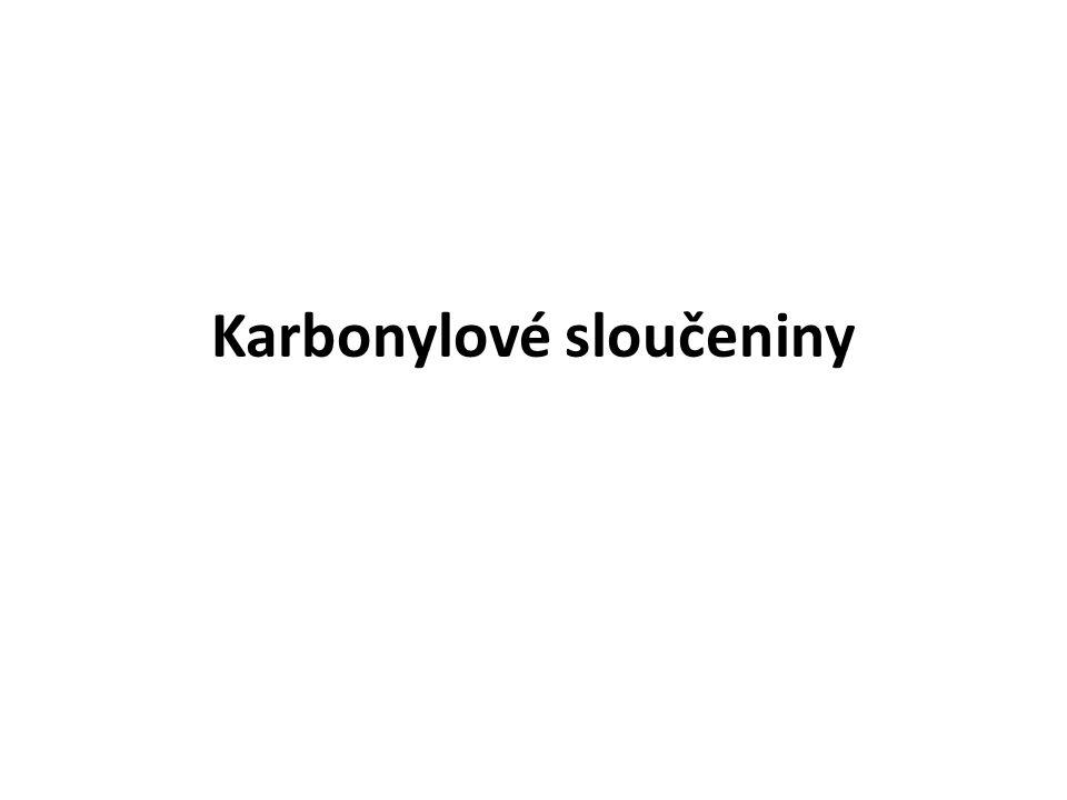Karbonylové sloučeniny