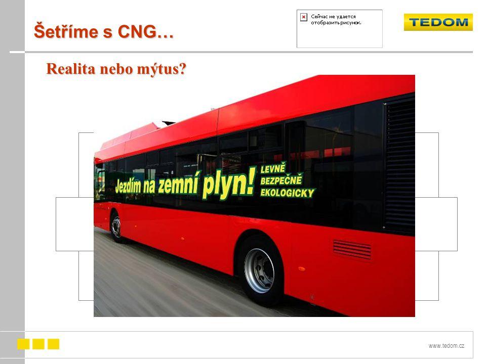 Šetříme s CNG… Realita nebo mýtus