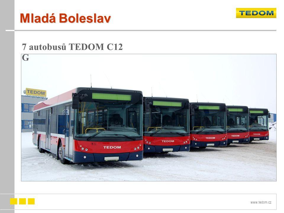 Mladá Boleslav 7 autobusů TEDOM C12 G