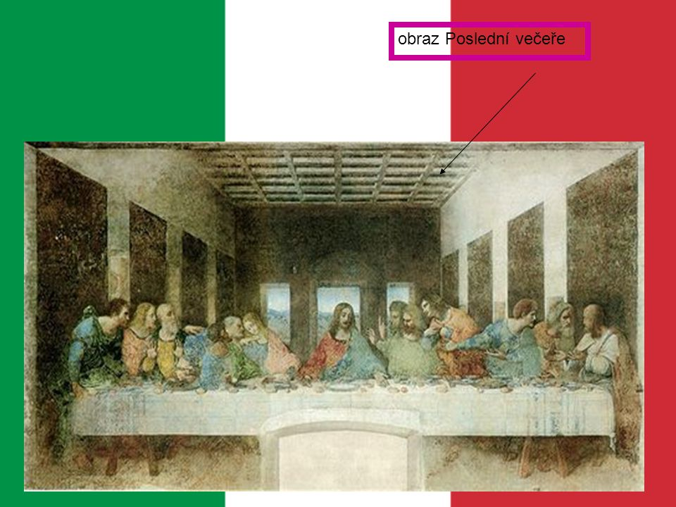 obraz Poslední večeře
