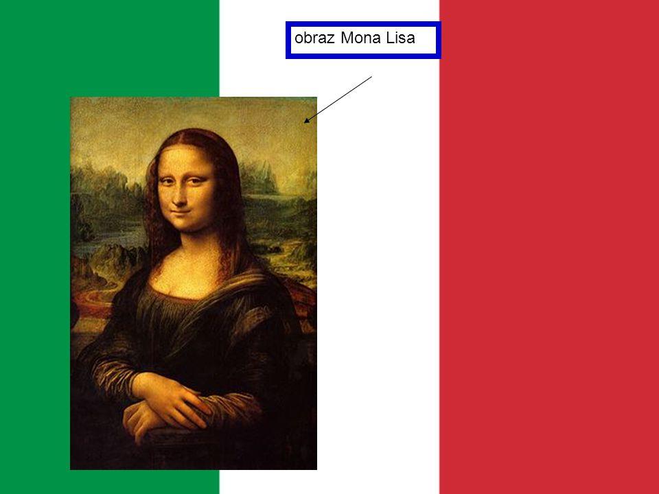 obraz Mona Lisa