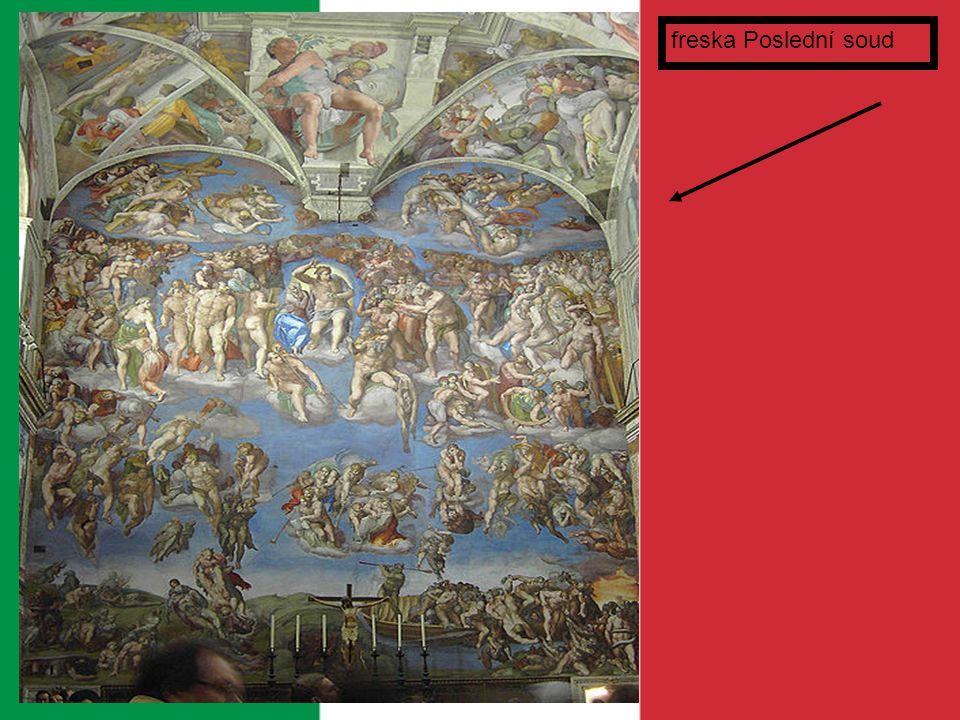 freska Poslední soud