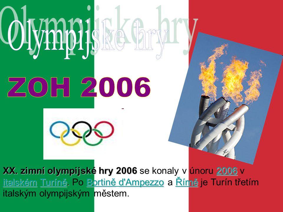 Olympijske hry ZOH 2006.