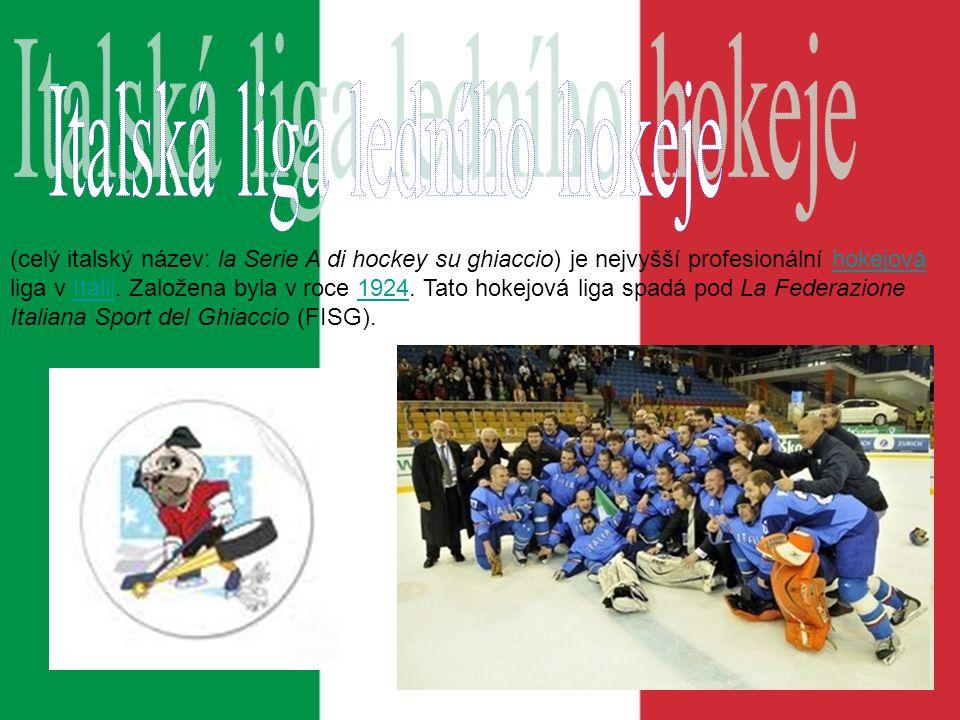 Italská liga ledního hokeje