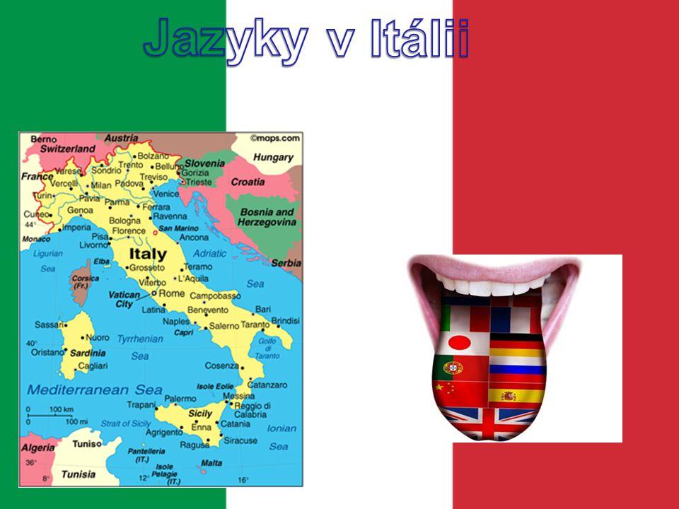 Jazyky v Itálii