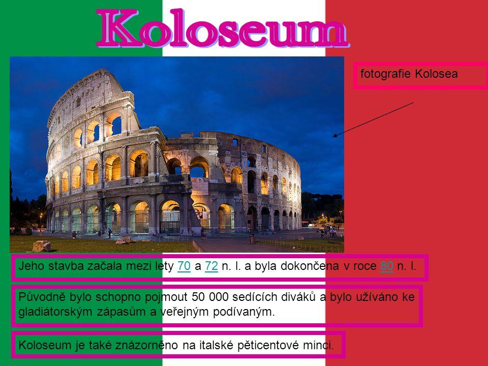 Koloseum fotografie Kolosea