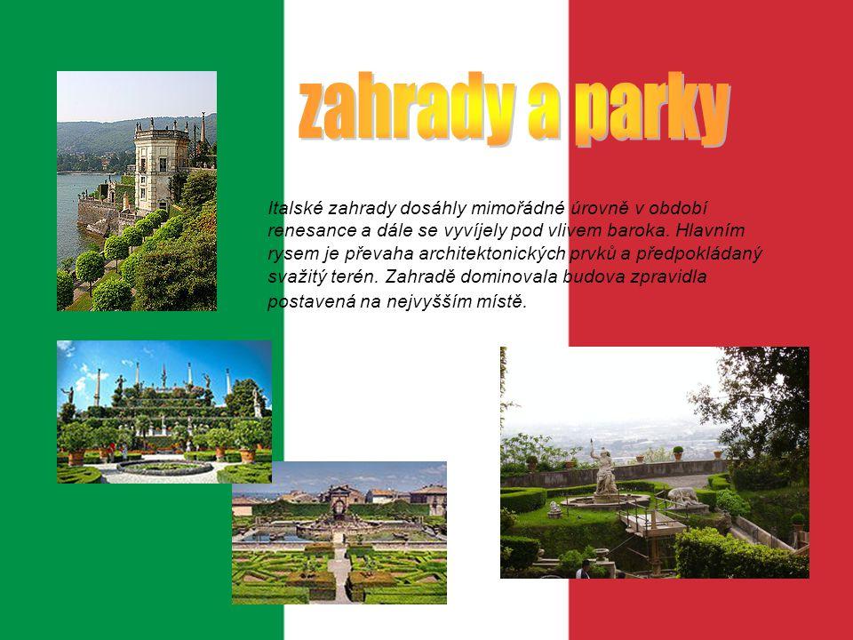 zahrady a parky