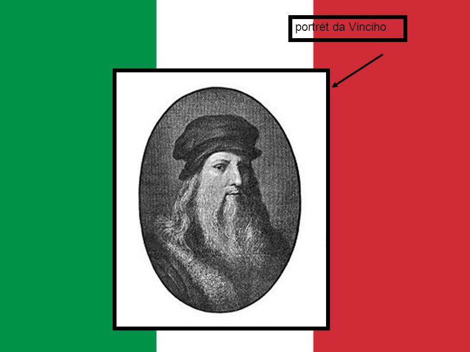 portrét da Vinciho