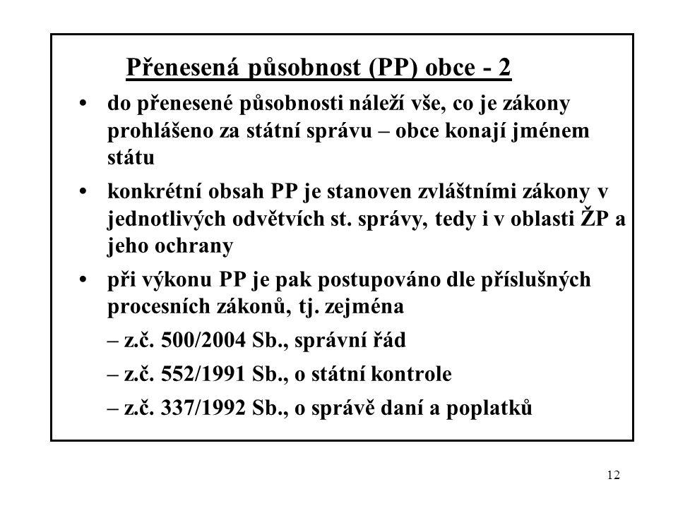 – z.č. 552/1991 Sb., o státní kontrole