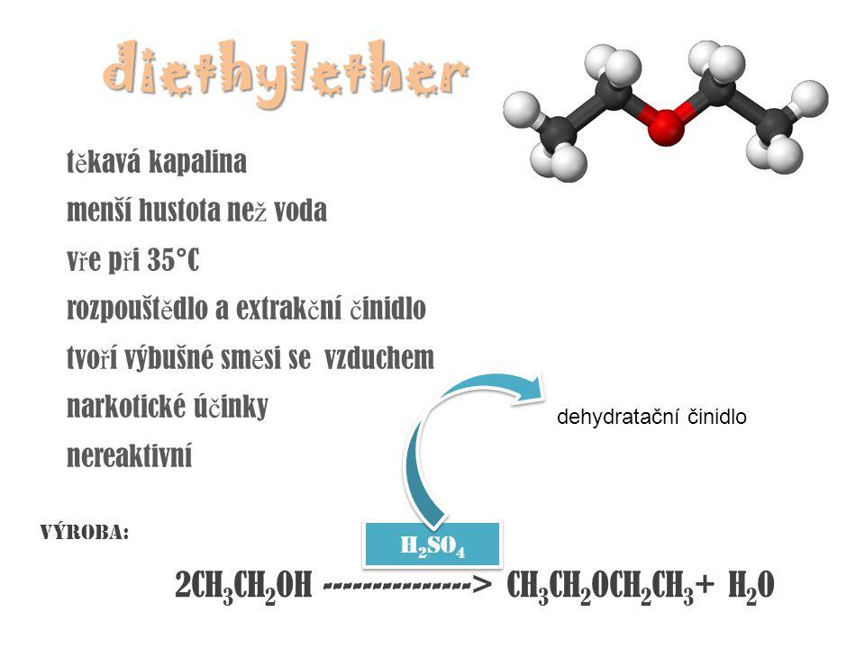 2CH3CH2OH ---------------> CH3CH2OCH2CH3+ H2O