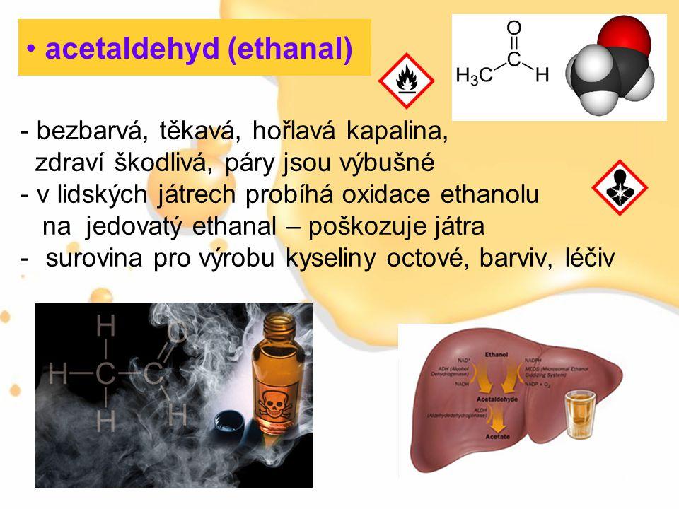 acetaldehyd (ethanal)
