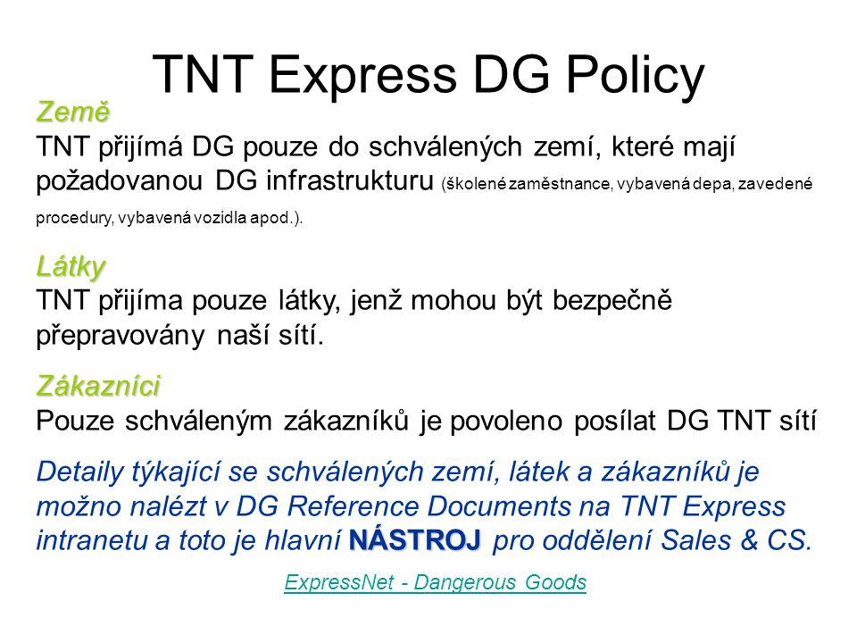 ExpressNet - Dangerous Goods