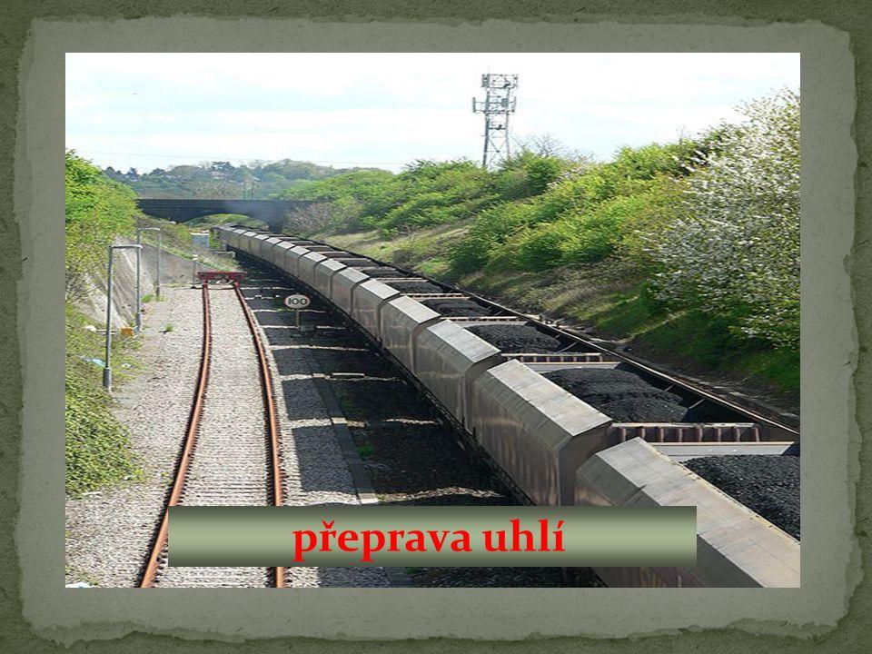 přeprava uhlí