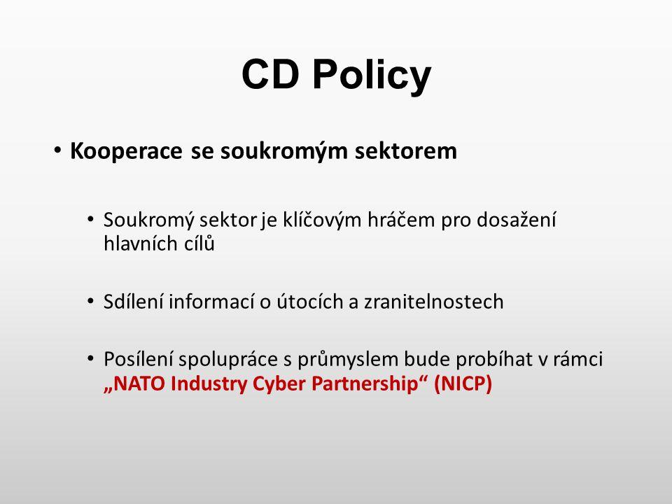 CD Policy Kooperace se soukromým sektorem