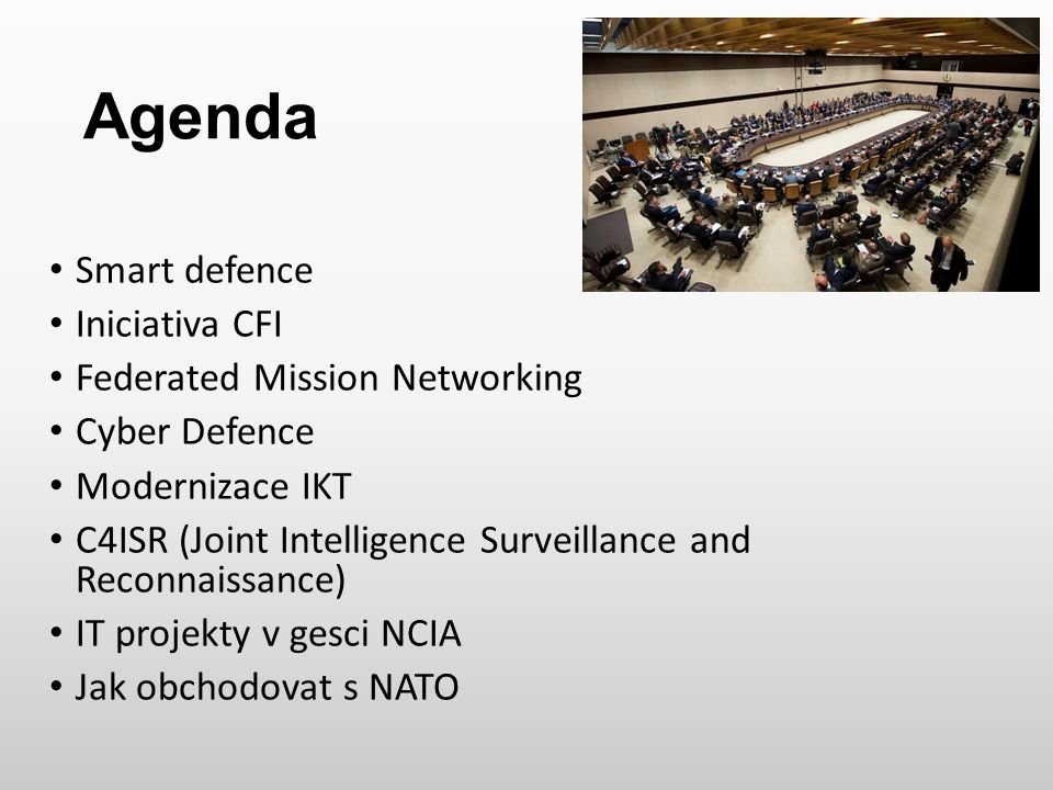 Agenda Smart defence Iniciativa CFI Federated Mission Networking