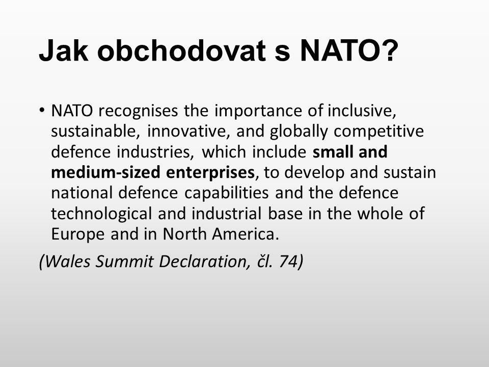 Jak obchodovat s NATO
