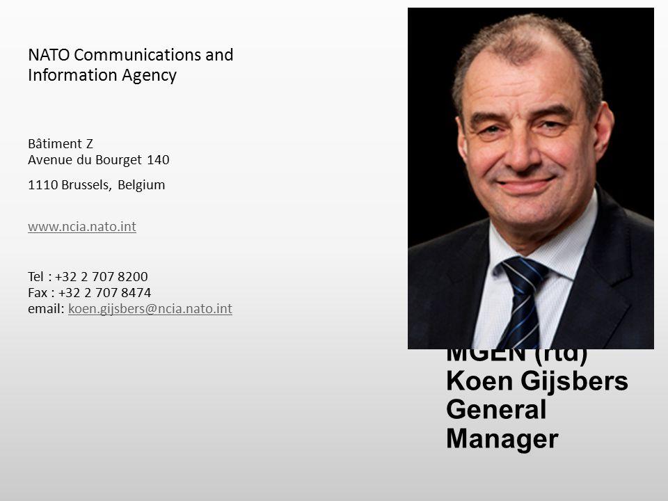 MGEN (rtd) Koen Gijsbers General Manager