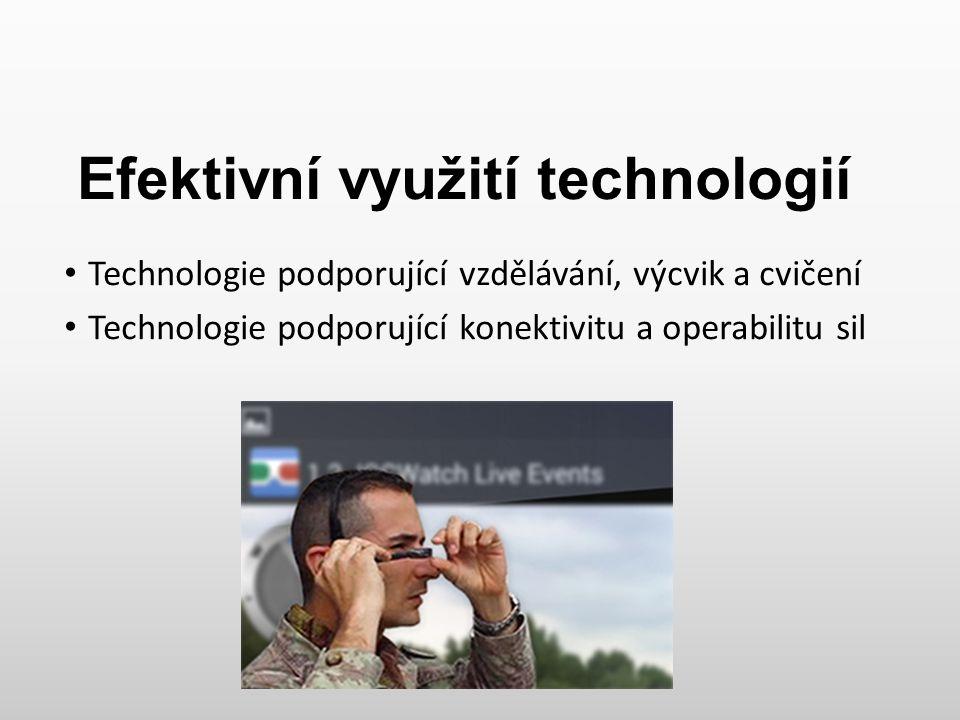 Efektivní využití technologií