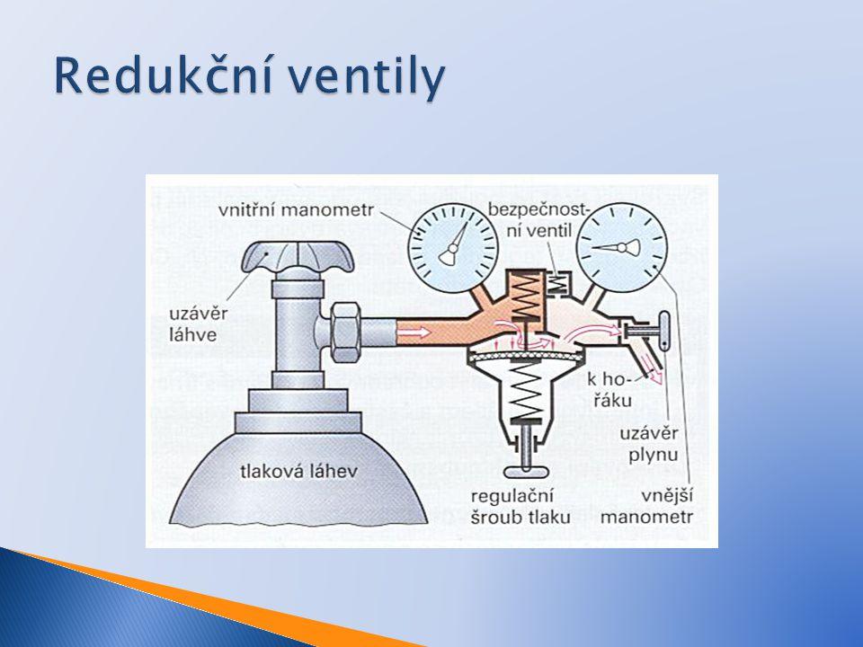 Redukční ventily