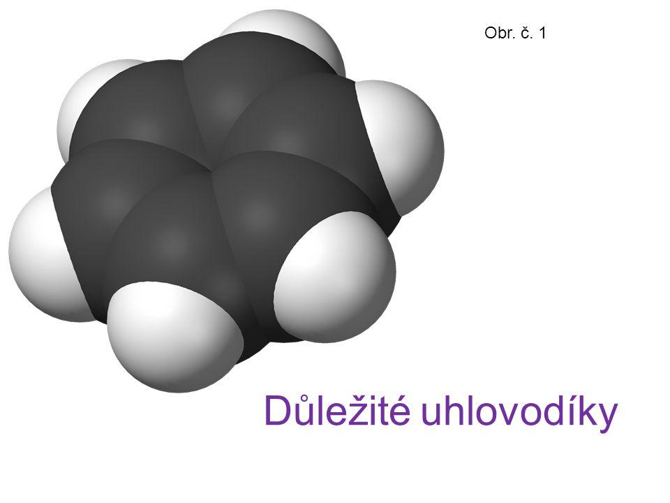 Obr. č. 1 Důležité uhlovodíky