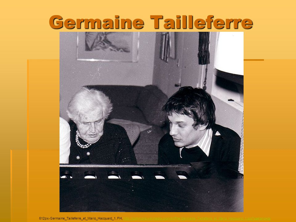Germaine Tailleferre