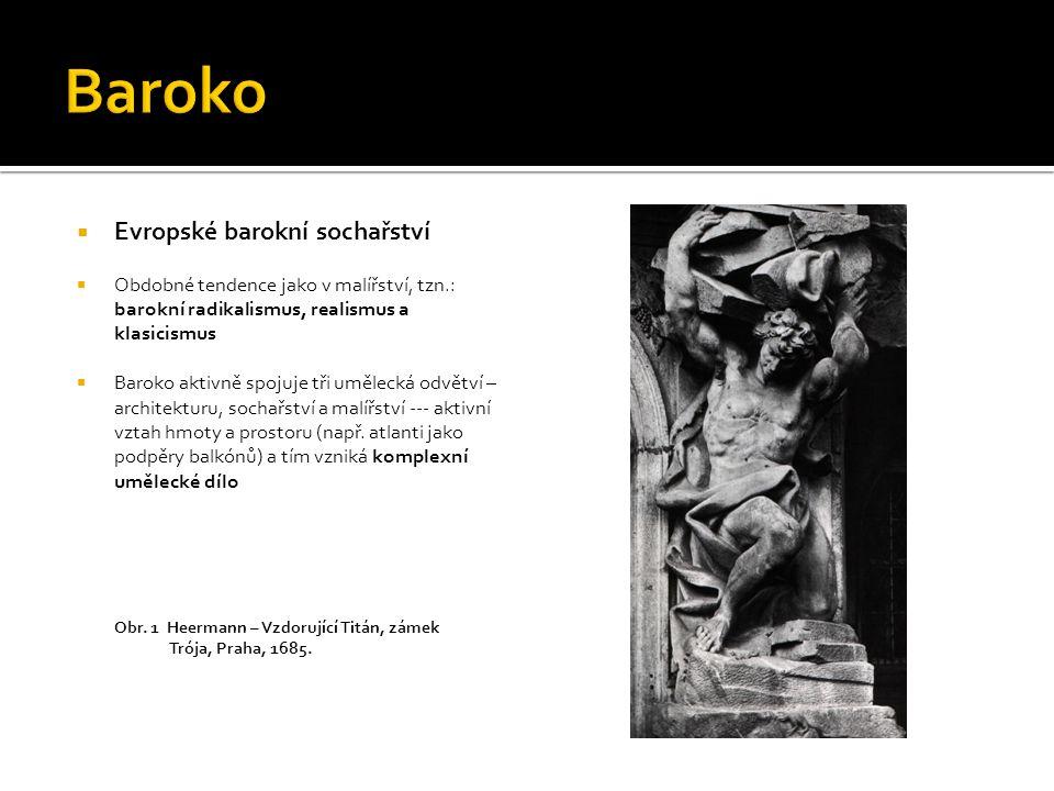 Baroko Evropské barokní sochařství
