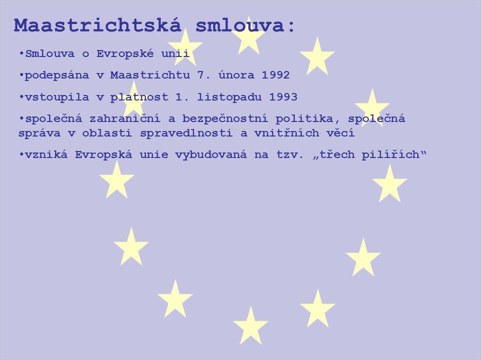 Maastrichtská smlouva: