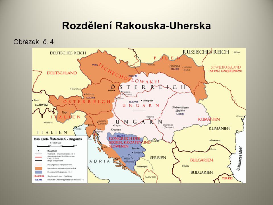 Rozdělení Rakouska-Uherska