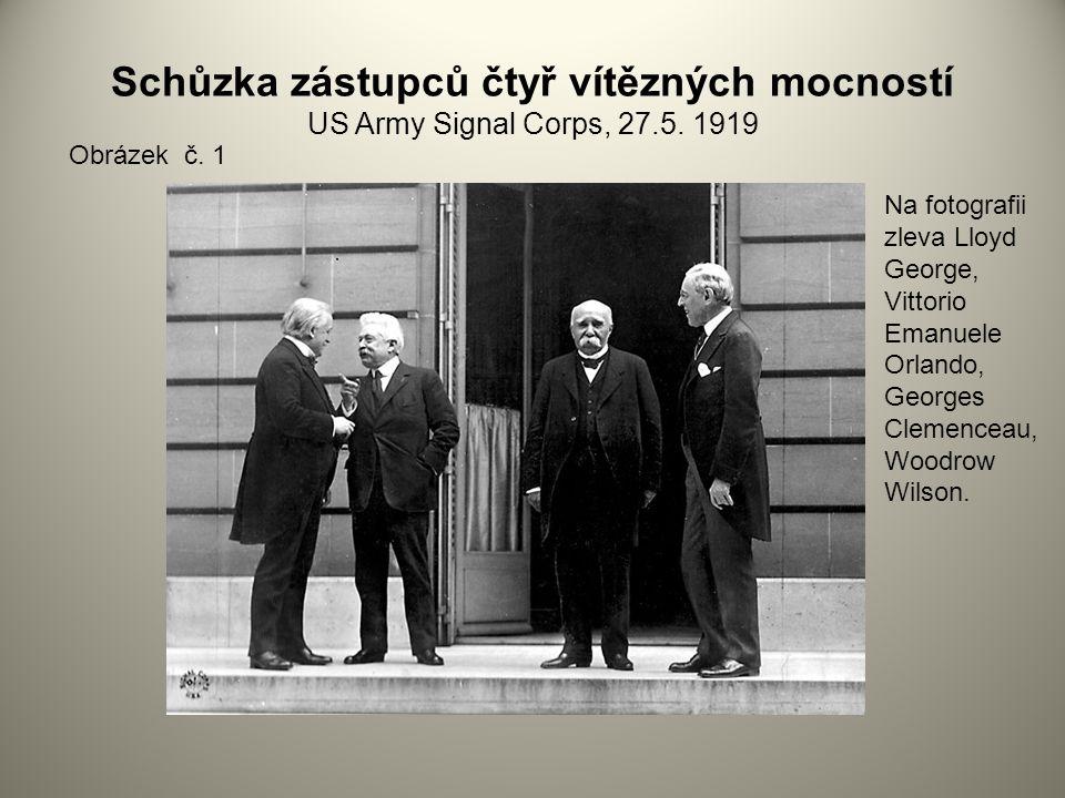 Schůzka zástupců čtyř vítězných mocností US Army Signal Corps, 27. 5