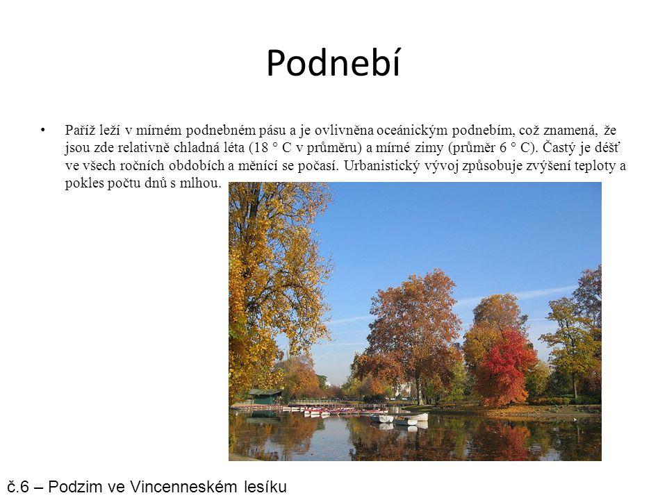 Podnebí č.6 – Podzim ve Vincenneském lesíku