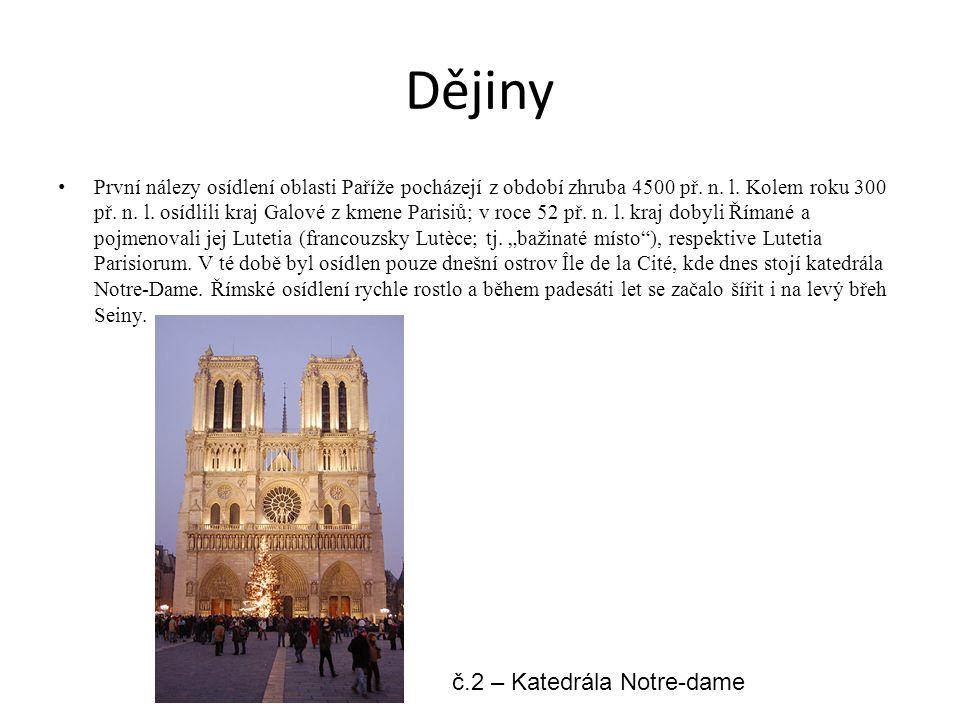 Dějiny č.2 – Katedrála Notre-dame