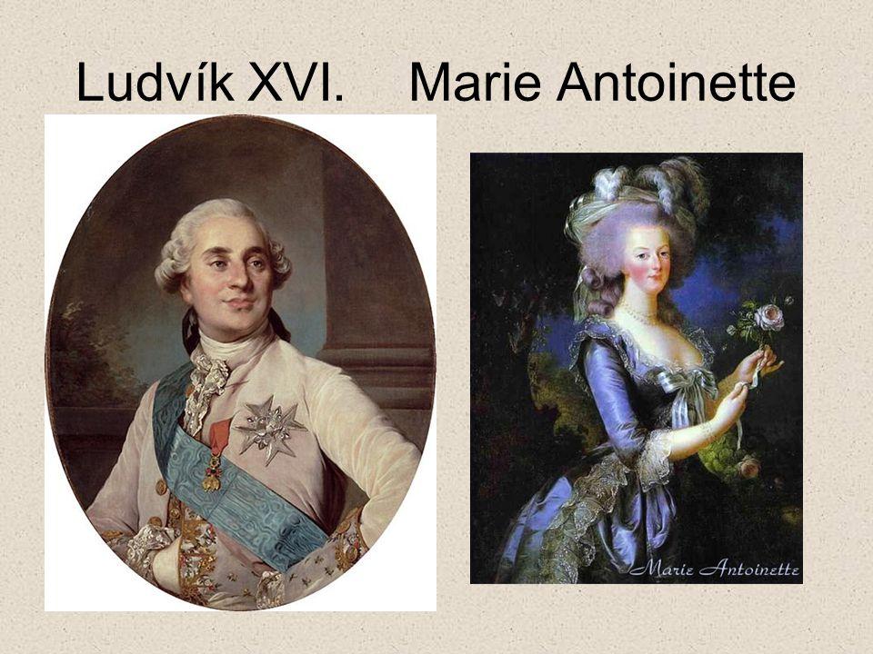 Ludvík XVI. Marie Antoinette