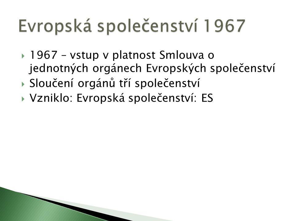 Evropská společenství 1967