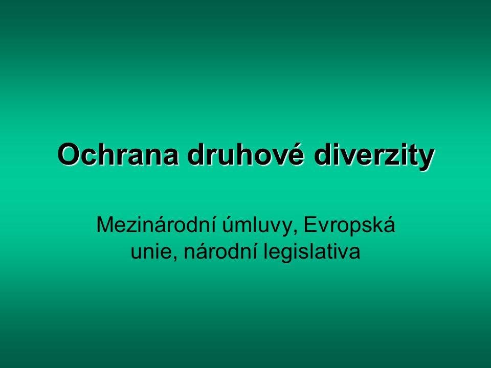 Ochrana druhové diverzity