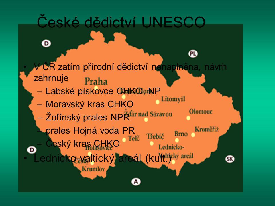 České dědictví UNESCO Lednicko-valtický areál (kult.)