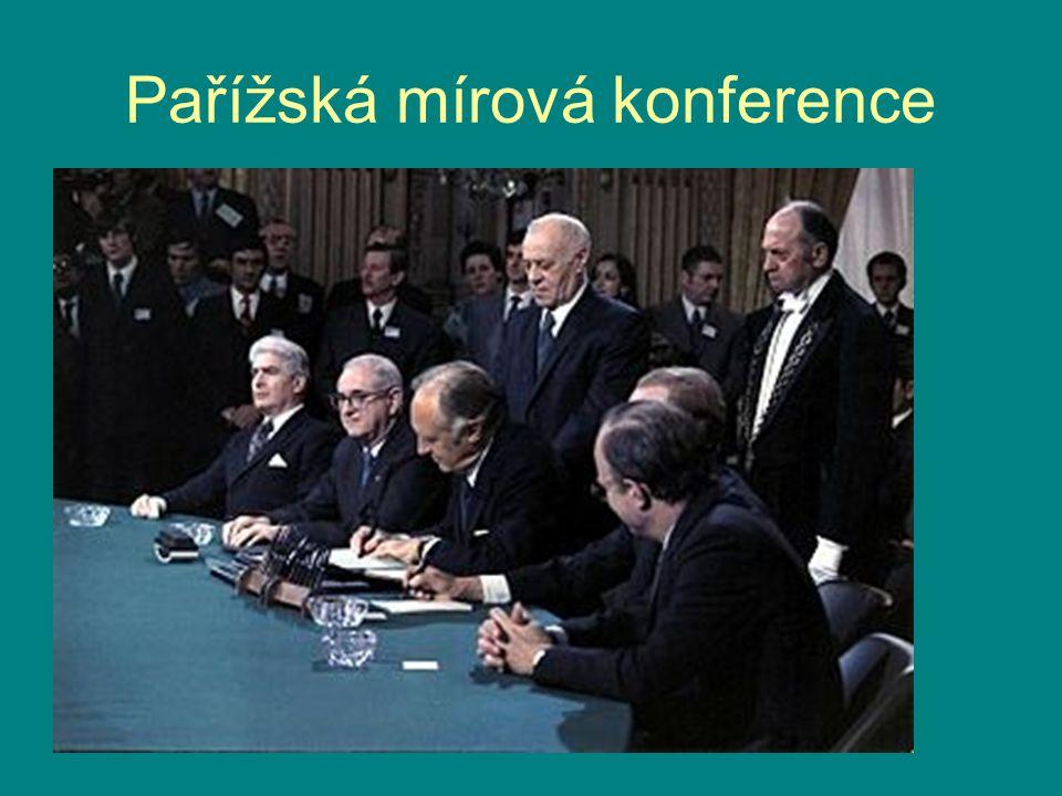 Pařížská mírová konference